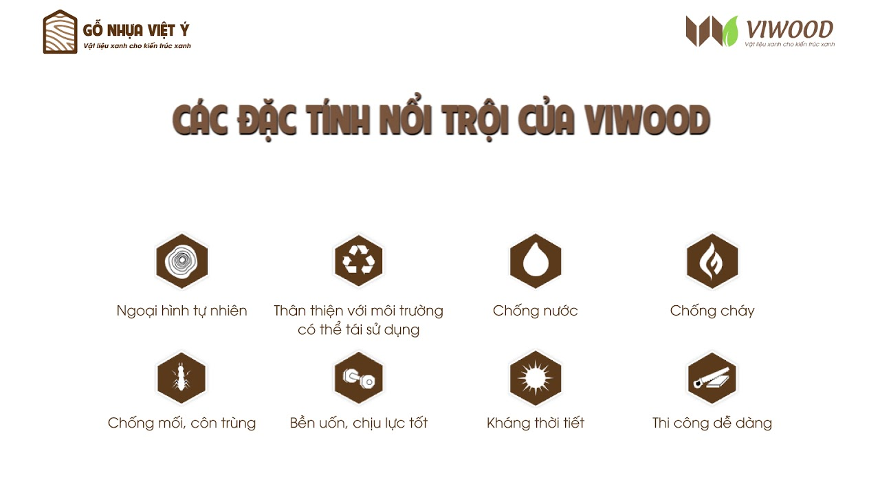 Đặc tính nổi trội của viwood